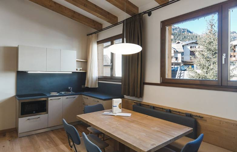 SUPERIOR THREE ROOM APARTMENT DEDICATED TO DINO BUZZATI Residence Hotel Langes San Martino di Castrozza