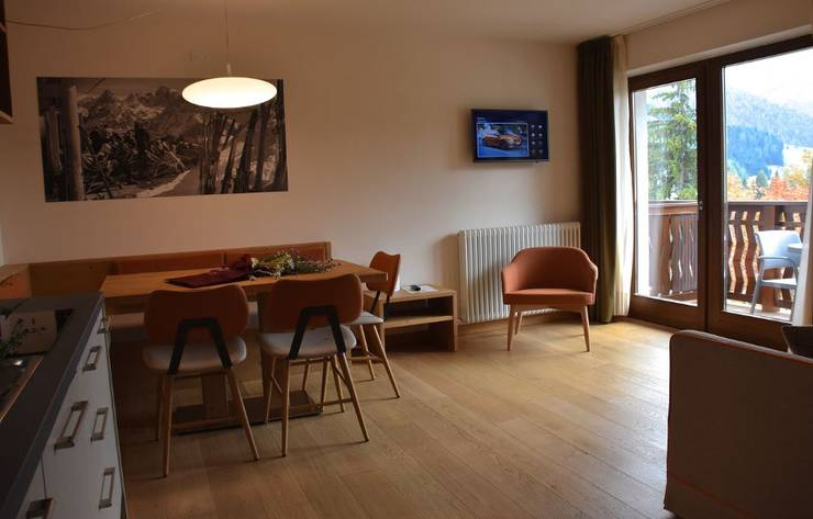 Two room apartment dedicated to walter ghezzi residence hotel langes san martino di castrozza